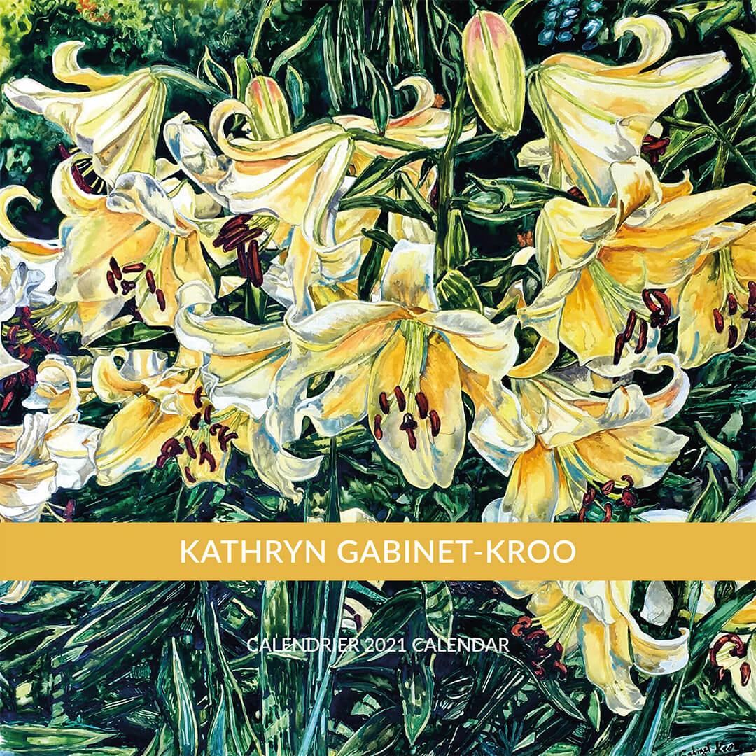 floral calendar, kathryn gabinet kroo